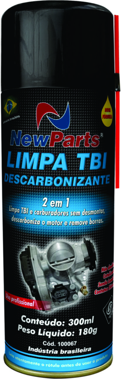 Limpa TBI + Descarbonizante 300ml